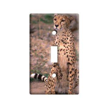 Cheetah - Cat Light Switch Plate Cover