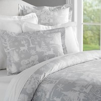 Frosted Forest Duvet Cover & Sham