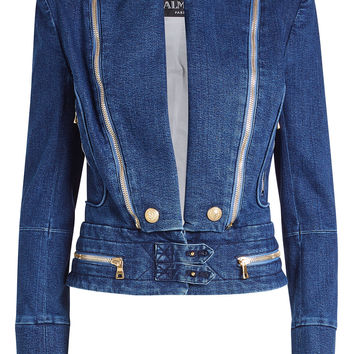 Denim Jacket - Balmain | WOMEN | KR STYLEBOP.COM