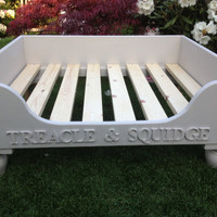 Luxury Raised Wooden Dog Bed, Hand Made to Order various Sizes and Colours Eco Friendly see SPECIAL OFFERS BELOW