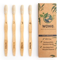 Adult - Natural Bamboo Toothbrush