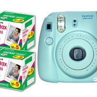 Fujifilm Fuji Instax Mini 8 Blue + 50 Shots Of Instant Film Pack Of 50