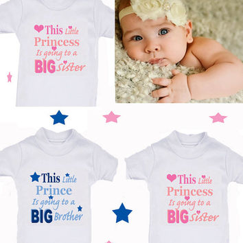Princess or Worth wait etc 1 x bodysuit or 1 x T-shirt or 2 x white bibs or DESIGN YOUR OWN