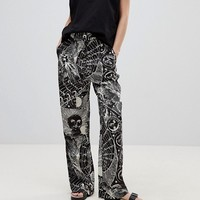 Weekday Horoscope Print Trouser at asos.com