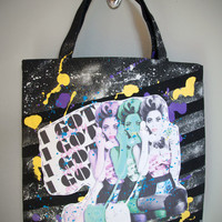 BEYONCE- Why Don't You Love Me Pop Art Tote Bag