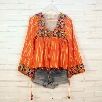 gypsy boho clothing,boho gypsy jacket,hippie clothes,banjara,gypsy festival top,hippie gypsy top,festival clothes,boho kimono,gypsy kimono