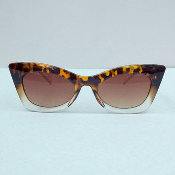 Thick Frame Cat Eye Sunglasses in from The Little Deer