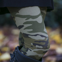 Lost in Camoflauge Leggings
