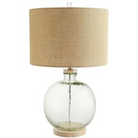 Coastal Recycled Glass Table Lamp