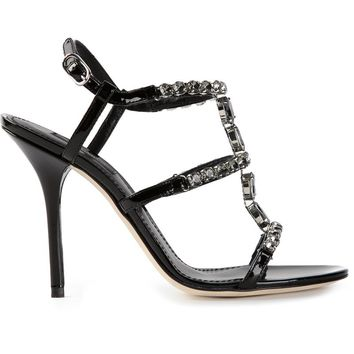 Dolce & Gabbana jewel embellished sandals