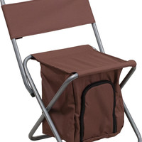 Brown Folding Camping Chair