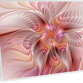 'Abstract Butterfly, Colorful Fantasy Fractal Art' Laptop Skin by gabiwArt