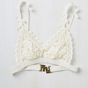 Love Story of My Life Bralette | Mod Retro Vintage Underwear | ModCloth.com