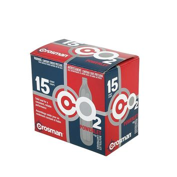 Crosman 12 Gram CO2 Cartridges 15 Count