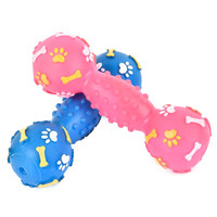 Pet Dog Chew Toys Funny Pet Dog Squeak Toy Healthy Material For Puppy Dog and Cat Pet Supplies Bone