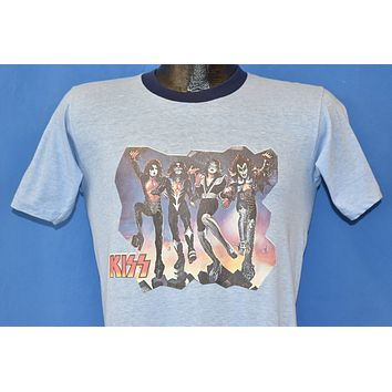 70s KISS Bank Iron-On t-shirt Small