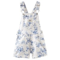 OshKosh B'gosh Linen Shortalls - Toddler Girl, Size: