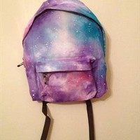 Hand painted galaxy backpack from Fleurus