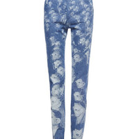 Highrise Stovepipe 3D People Print Pant - Marc Jacobs