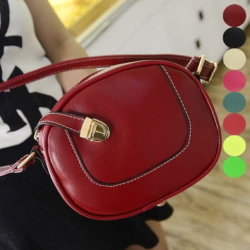 Korean Ladies Lock Winter Bags Stylish Shoulder Bags [6583113351]
