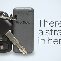 FinalStraw, the world's first collapsible, reusable straw