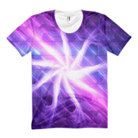 Flowers of Nine Celestial Rains || Women's sublimation t-shirt — Future Life Fashion