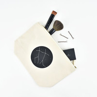 Constellation Star Sign Make Up Bag