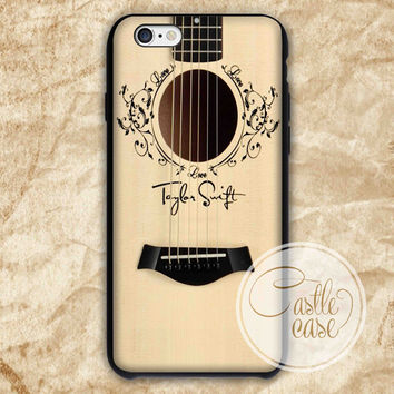 Taylor Swift Guitar iPhone 4/4S, 5/5S, 5C Series Hard Plastic Case