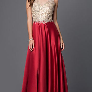 Dresses, Formal, Prom Dresses, Evening Wear: PO-7494