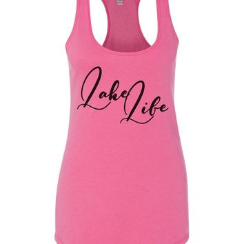 Lake Life Womens Workout Tank Top