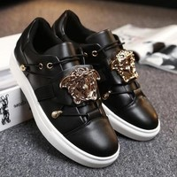 Versace Fashion Men Casual Sport Running Shoes Sneakers Black I13812-1