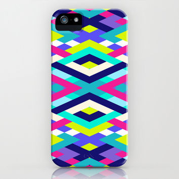 Smart Diagonals Pink iPhone & iPod Case by House of Jennifer