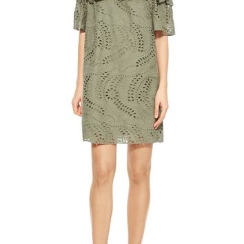 Parker Cable Off the Shoulder Shift Dress | Nordstrom