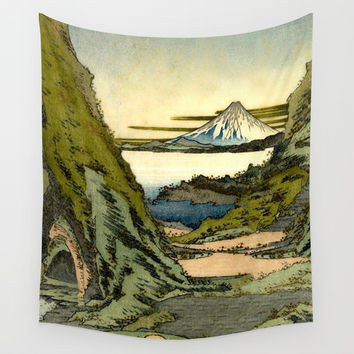 Morning at Sin Ruido Wall Tapestry by Kijiermono