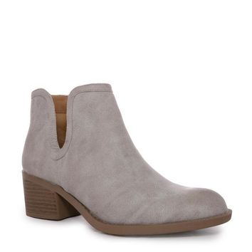 Gray Philly Ankle Boot