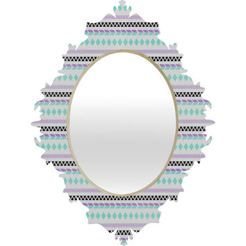 Allyson Johnson Native American Pattern Baroque Mirror