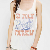 Urban Outfitters - Junk Food Go Folk Yourself Tank Top