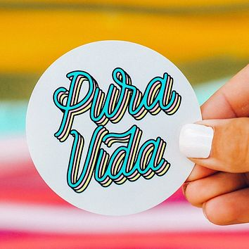 Pura Vida Sticker Decal