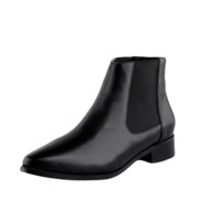 Black Pointed Toe Rider Boots