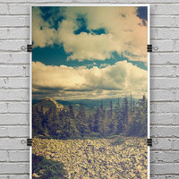 Beatuful Scenic Mountain View - Ultra Rich Poster Print