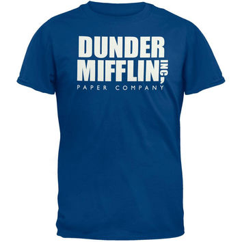 The Office - Dunder Mifflin Blue T-Shirt
