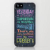 Today is a Gift iPhone Case by Maximilian San | Society6