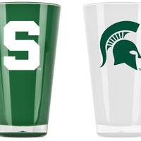 Michigan State Spartans Tumblers - Set of 2 (20 oz)