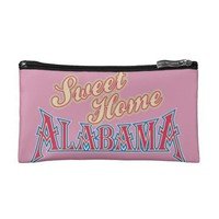 Alabama is Home Cosmetic Bags