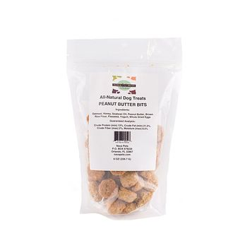 All Natural Dog Treats Peanut Butter Bits
