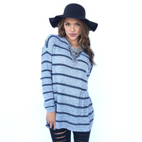 Combo Stripe Knit Sweater