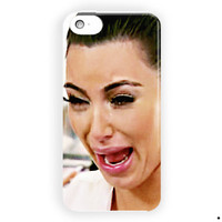 Kim Kardashian Crying Face Cover For iPhone 5 / 5S / 5C Case