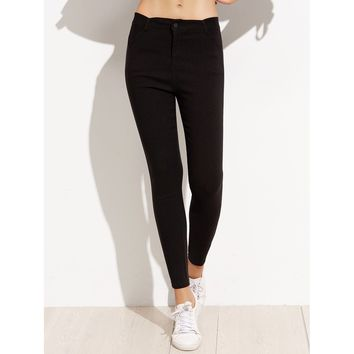Skinny Ankle Pants Casual