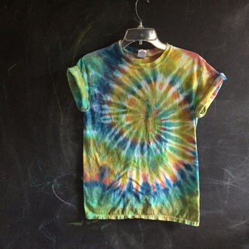 READY TO SHIP! Earth Toned tie dye - small