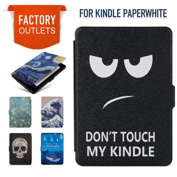 Smart Kindle Paperwhite  Case  PU Leather Cover Auto Sleep/Wake for Amazon Kindle Paperwhite 6 inch 1 2 3(2012 2013 2015 )